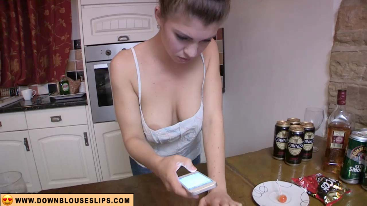 Play Katie Down Blouse Video